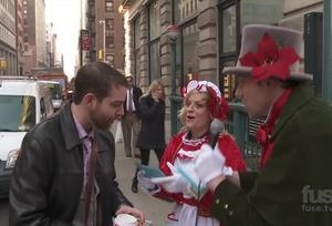 Billy on the Street: Christmas Carol Ambush with Amy Poehler