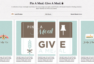 Pin-A-Meal, Give-A-Meal